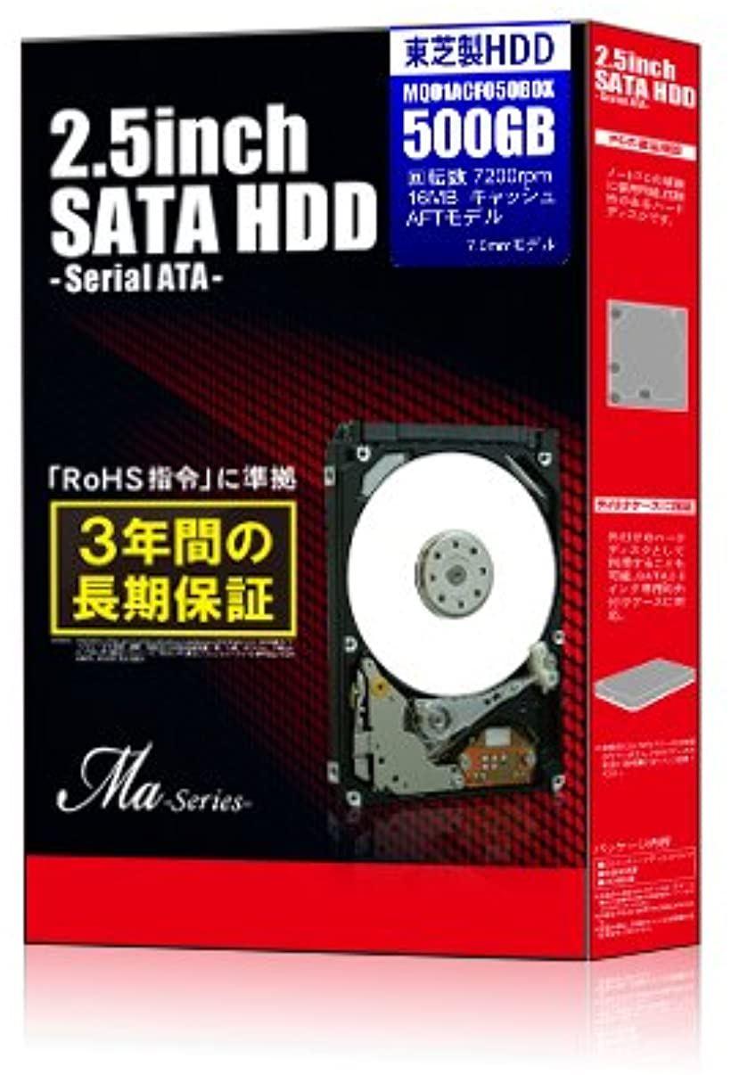 2.5インチスリム内蔵HDD 500GB 7200rpmモデル(HDD 2.5)