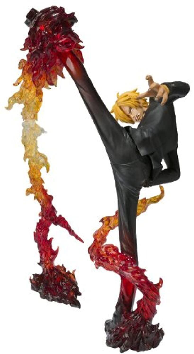フィギュアーツZERO サンジ-Battle Ver.悪魔風脚 画竜点睛ショット- ディアブルジャンブ フランバージュショット [BAN84053] [バンダイ(BANDAI)]