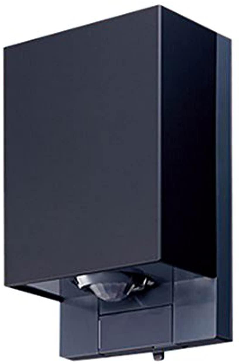 屋側壁取付スマート熱線センサ自動スイッチ 親器 ブラック WTK34314B(ブラック)