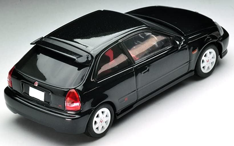 Tomica Limited Vintage Neo 1//64 LV-N165b Honda Civic Type R 99 Year Black