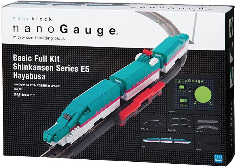 ナノゲージ ベーシックフルセット E5系新幹線はやぶさ[nGS_002]