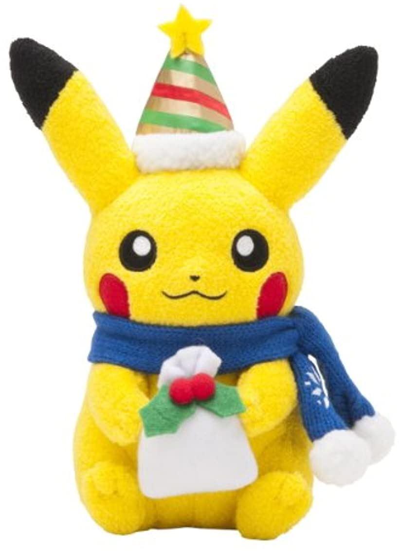 ポケモンセンターオリジナル ぬいぐるみ ピカチュウ クリスマス2013[43180-13924]