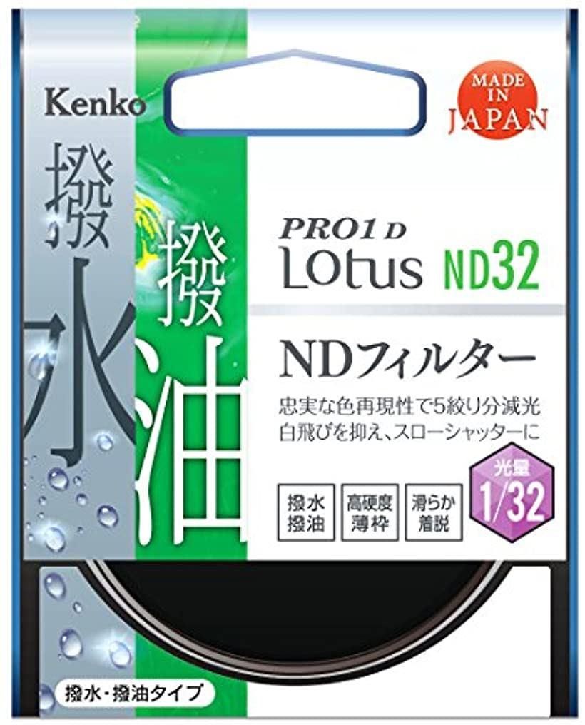 Kenko NDフィルター PRO1D Lotus ND32 光量調節用 撥水・撥油コーティング 絞り5段分減光 737729(77mm)