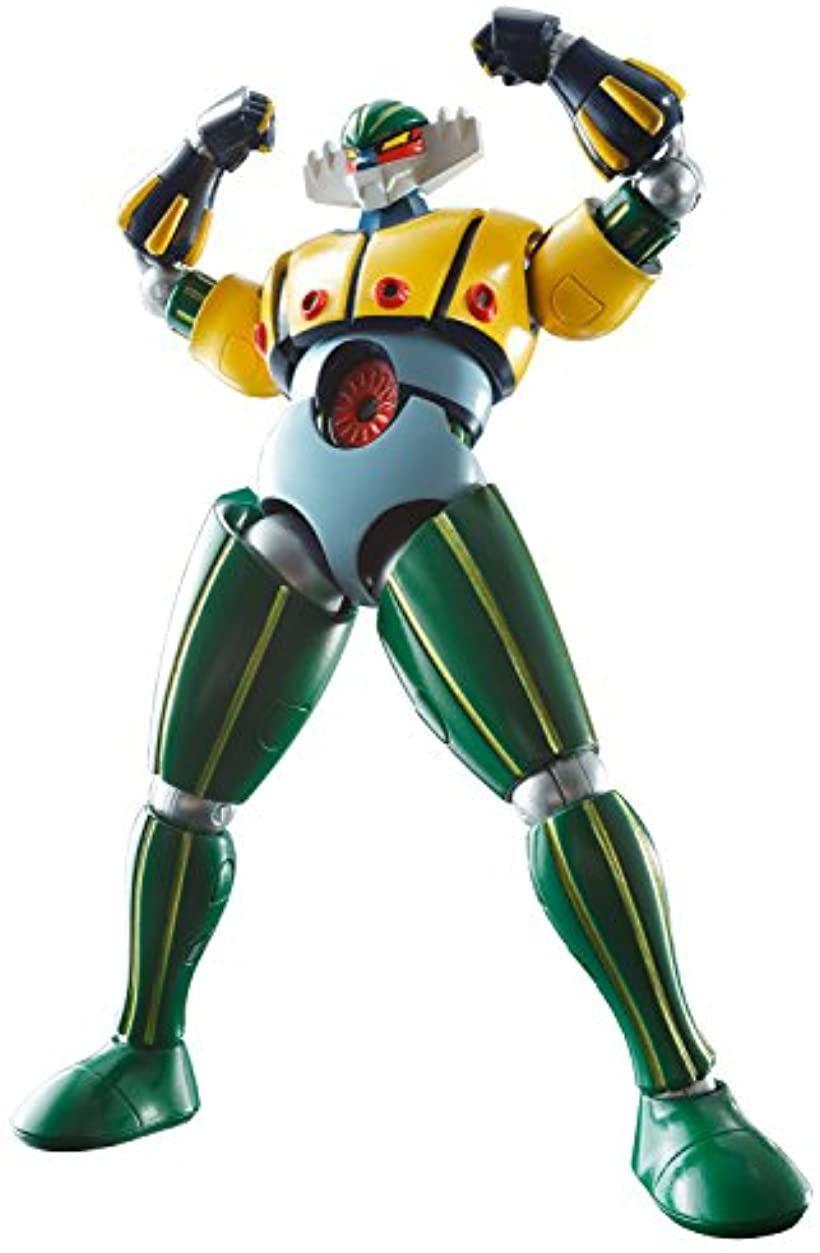 スーパーロボット超合金 鋼鉄ジーグ 約130mm ABS&PVC&ダイキャスト製 塗装済み可動フィギュア[BAN05210]