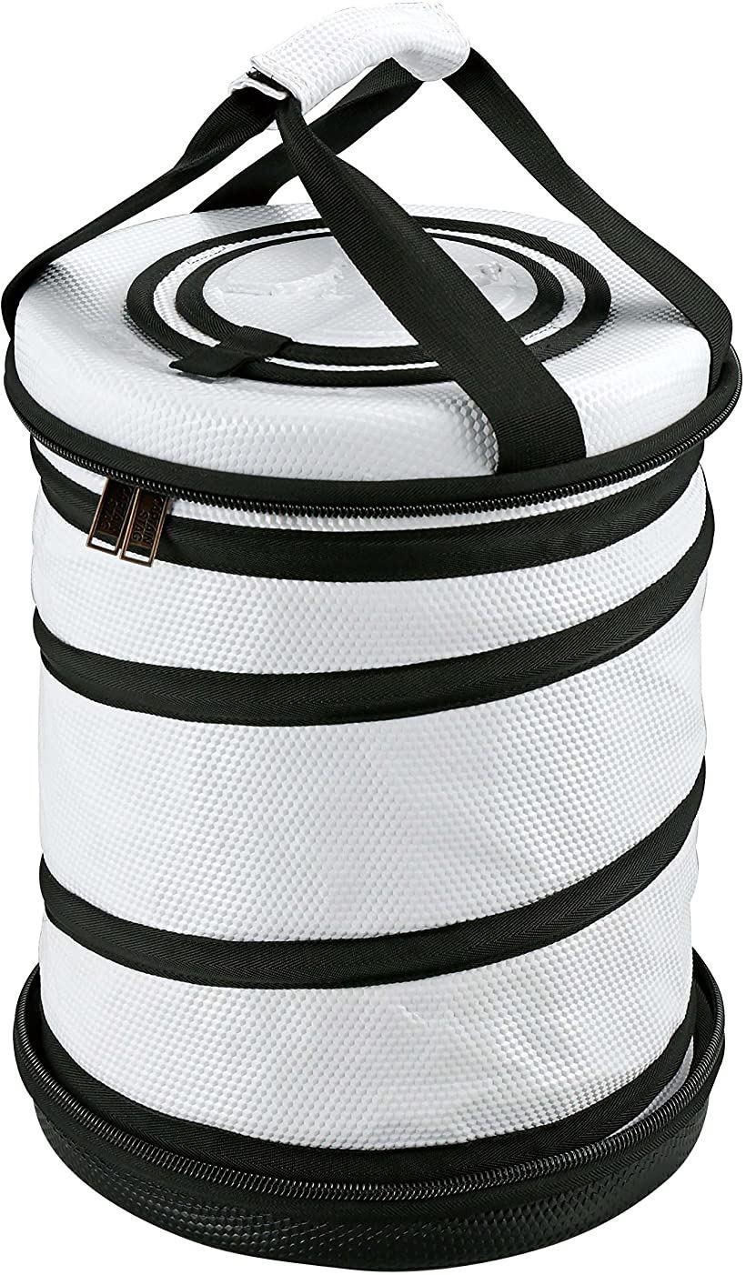 保冷バッグ 容量16L/折り畳み収納可 ラウンドコールド クーラーバッグ[UE-563](00)
