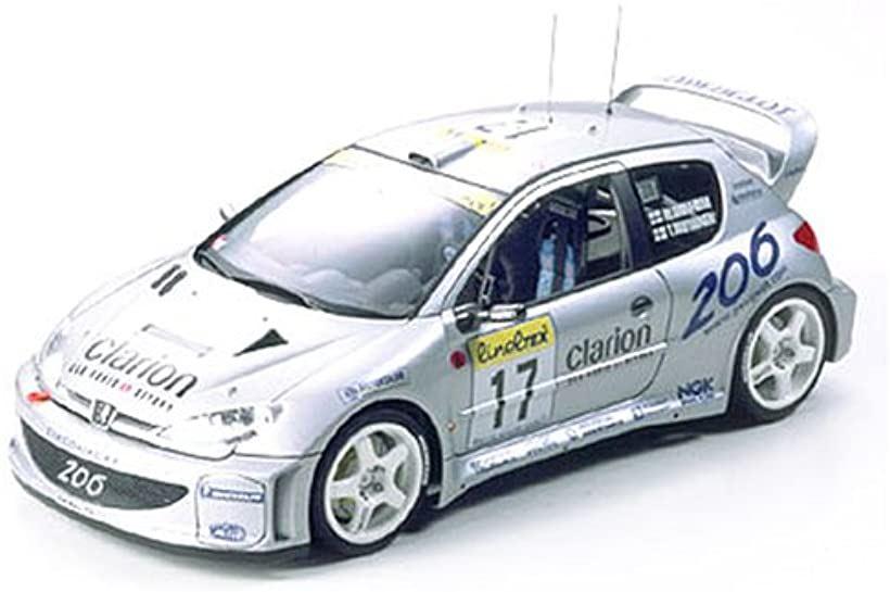 1/24 スポーツカーシリーズ No.225 プジョー206 WRC2000 プラモデル[24226]