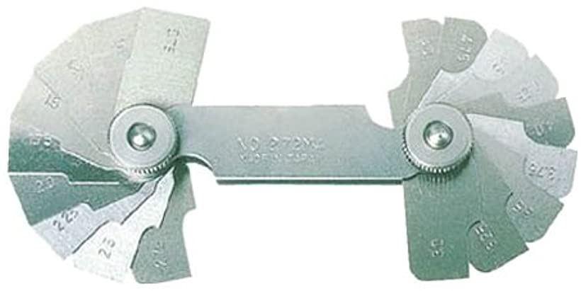 ラジアスゲ-ジ測定サイズ23.00~30.0枚数8 272MD(測定範囲23.00-30.0mm)