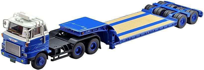 トミカリミテッドヴィンテージ ネオ 1/64 TLV-N173a 日野HH341 重機運搬トレーラ 東急TD302 メーカー初回受注限定生産 完成品[289760](ブルー)