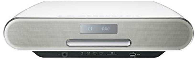 ミニコンポ ハイレゾ音源対応/Bluetooth対応/ワイドFM対応[SC-RS60-W](ホワイト)