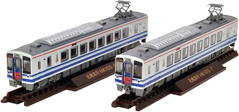 ジオコレ 鉄道コレクション 北越急行 開業20周年記念 HK100 超快速 2両セット ジオラマ用品