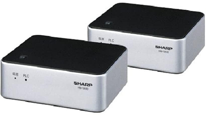 PLC 高速電力線通信アダプター LAN1ポート+LAN1ポートタイプ 初期設定済ペアモデル HN-VA10S