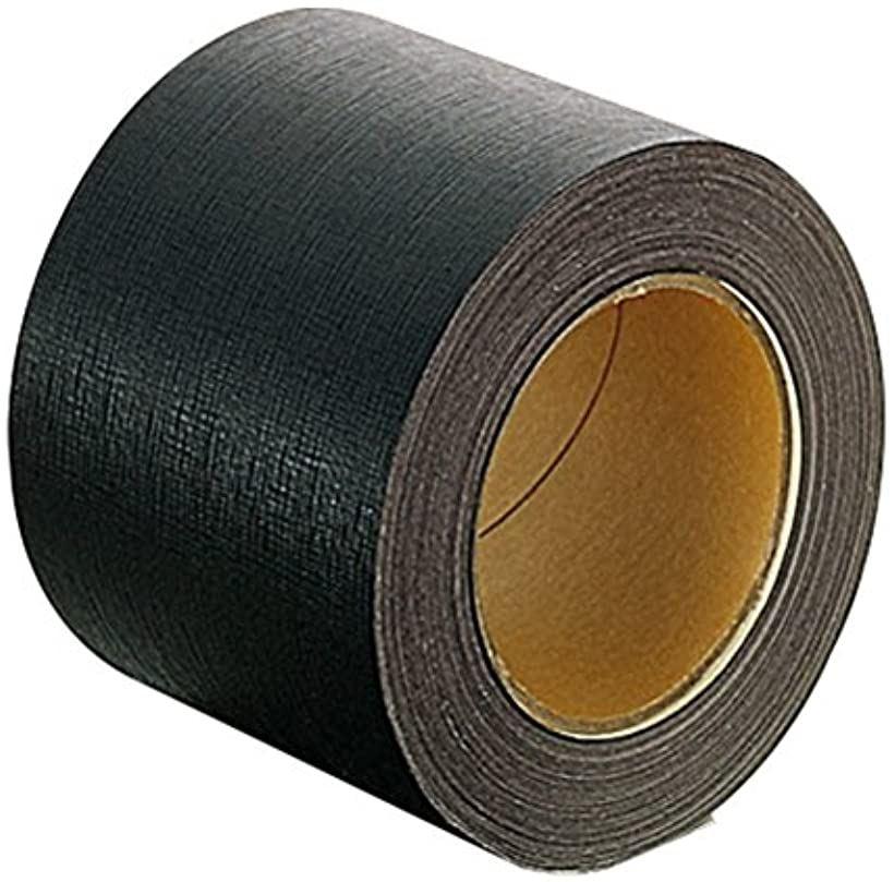 PLUS プラス 製本テープ 紙クロステープ 黒 商品追加値下げ在庫復活 テープ幅100mm 初回限定 40-606 100mmx25m