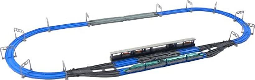 プラレール アドバンス E5系新幹線 連結&複線ポイントレールセット[4904810441731]
