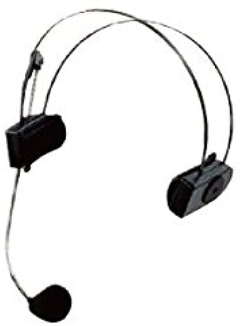 ヘッドセット型マイクロホン WX-M210(ブラック)