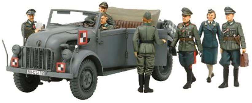 スケール限定シリーズ 1/35 ドイツ 大型指揮官車 コマンドワーゲン 司令部スタッフセット 25149[300025149]
