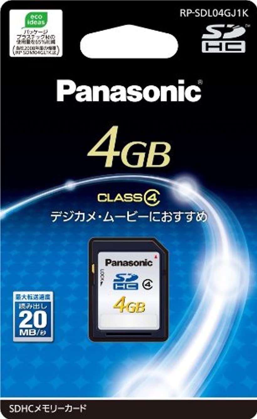 4GB SDHCメモリーカード CLASS4