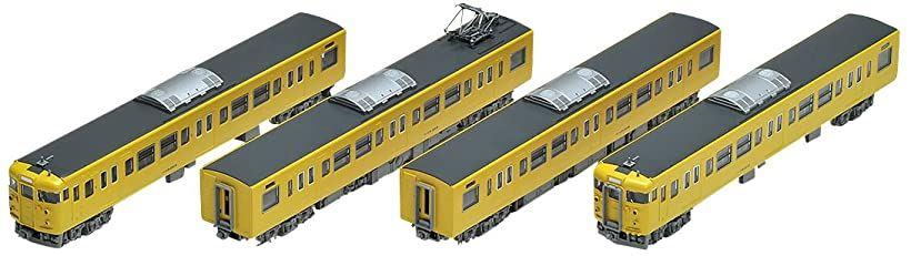 TOMIX Nゲージ 115 2000系近郊電車 JR西日本40N更新車 ・ 黄色 基本セット 4両 鉄道模型[98286]