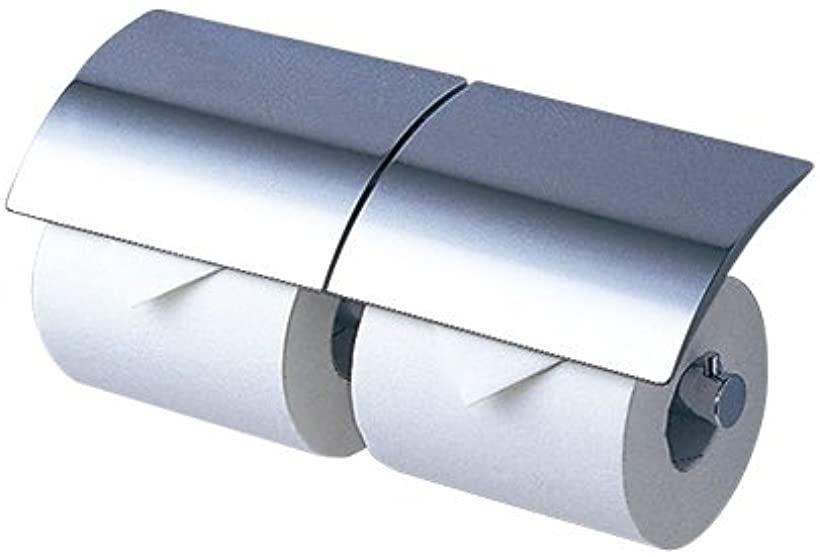 二連紙巻器 メタル製 芯棒固定式 YH63R