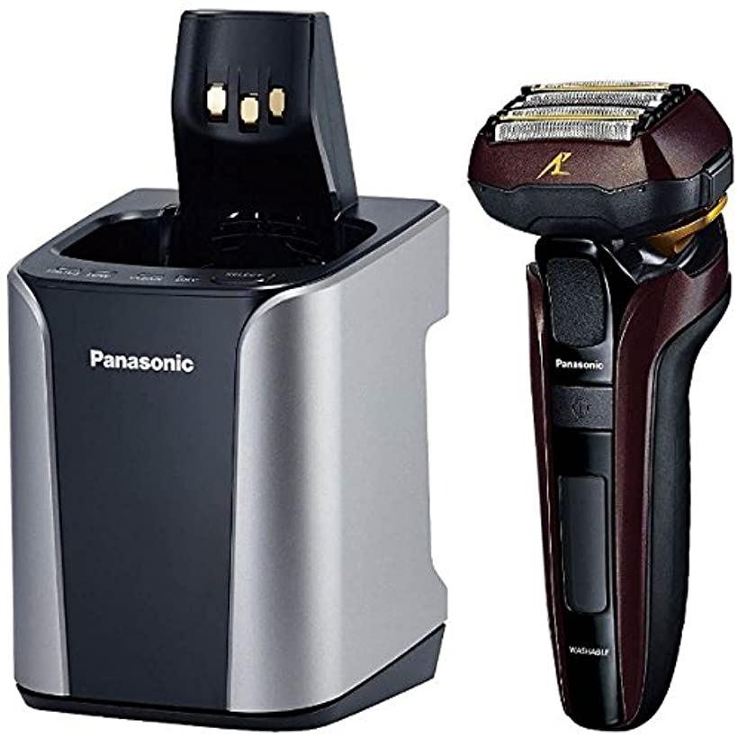 電気シェーバー 茶Panasonic ラムダッシュ 5枚刃 ES-LV7C の限定モデル[ES-CLV7C-T]