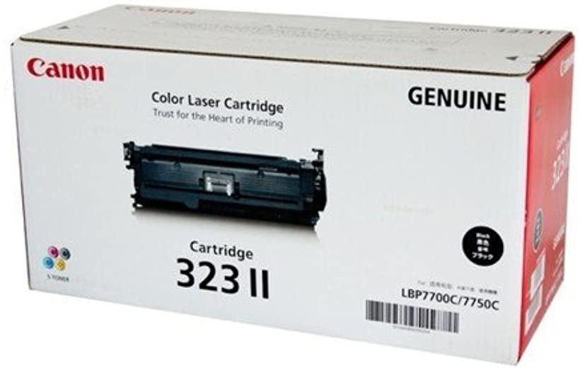 CANON トナーカートリッジ323II ブラック 大容量 10 000枚2645B003 CN-EP323-2BKJ