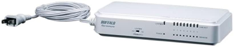 BUFFALO レイヤー2 ノンインテリジェントスイッチ 8ポート[BS-G2108UR-TP]