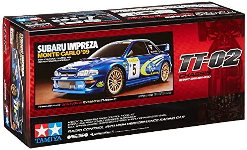 1/10 電動RCカーシリーズ No.631 スバル インプレッサ モンテカルロ 1999 TT-02シャーシ オンロード 58631[58632]