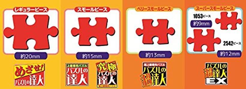 2542ピース ジグソーパズル パズルの超達人EX 富良野の花畑-北海道 スーパースモールピース 50x75cm[75-506]