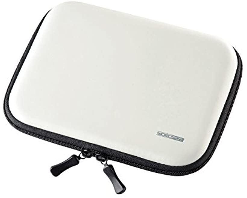 サンワサプライ セミハード電子辞書ケース 18%OFF PDA-EDC31W ホワイト SEAL限定商品