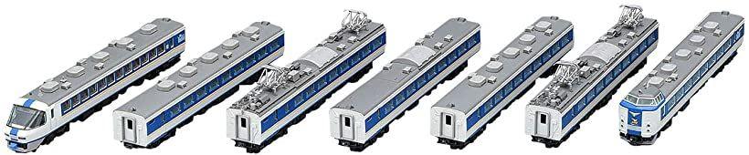 TOMIX Nゲージ 485系 特急電車 しらさぎ ・ 新塗装 セットA 7両 鉄道模型[98650]