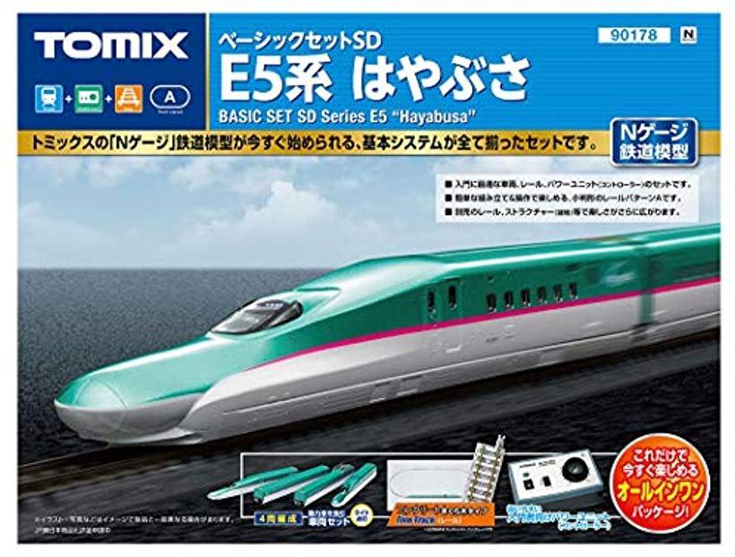 TOMIX Nゲージ ベーシックセットSD E5系はやぶさ 鉄道模型入門セット[90178]