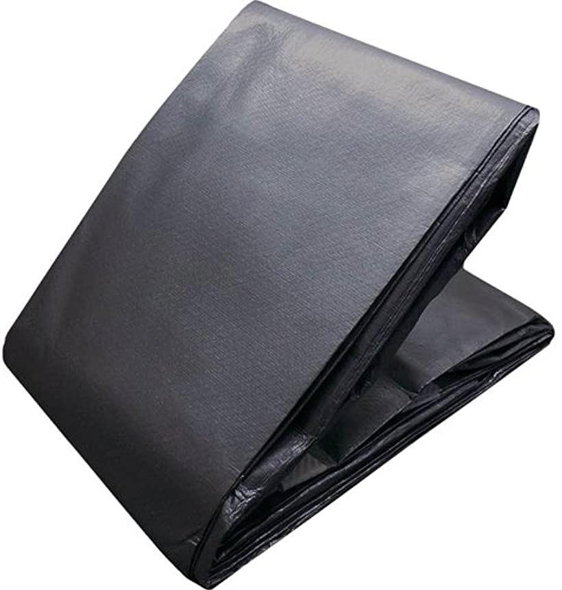 トラスコ エコ超厚手UVシ-ト#5000 メタリックシルバー 幅5.4mX長(5.4m x 7.2m)