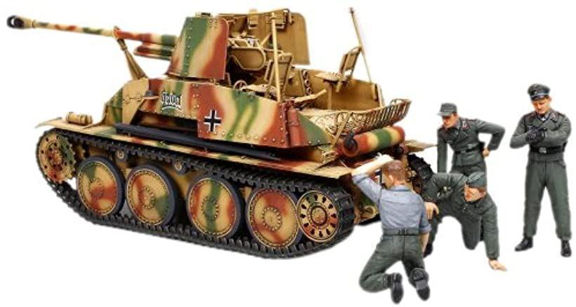 1/35 ドイツ対戦車自走砲マーダーIII Pak36 野戦整備セット[89751-000]