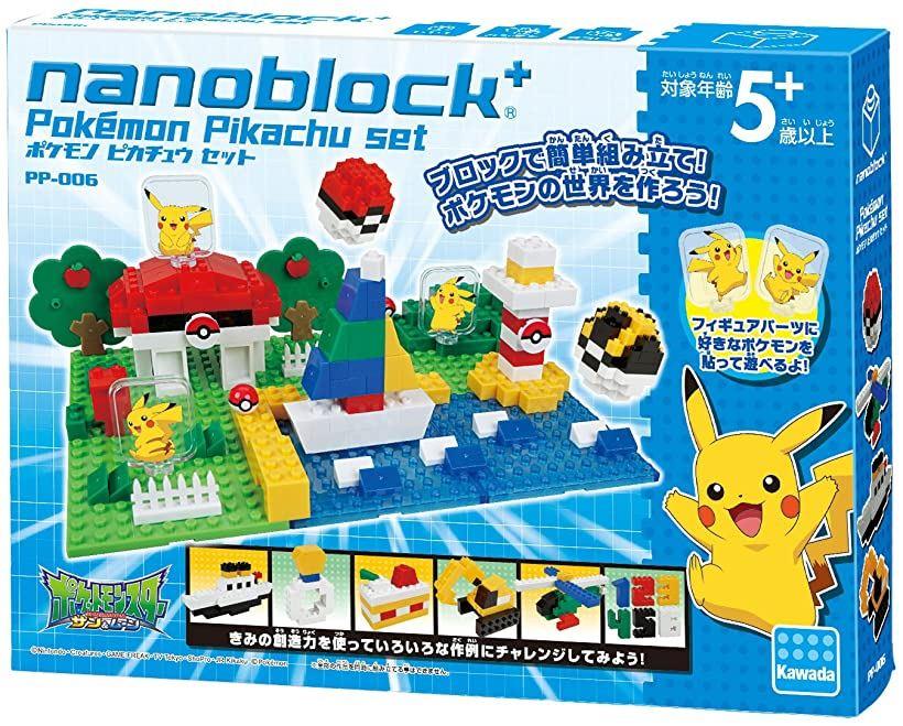 ナノブロックプラス ポケモン ピカチュウセット PP-006