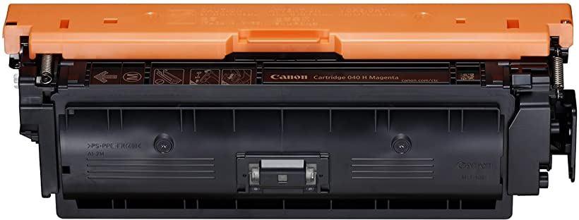 Canon 040 H - Magenta original toner cartridge for imageCLASS LBP712Cdn i-SENSYS LBP710Cx LBP712Cx Satera[0457C001AA](マゼンダ)