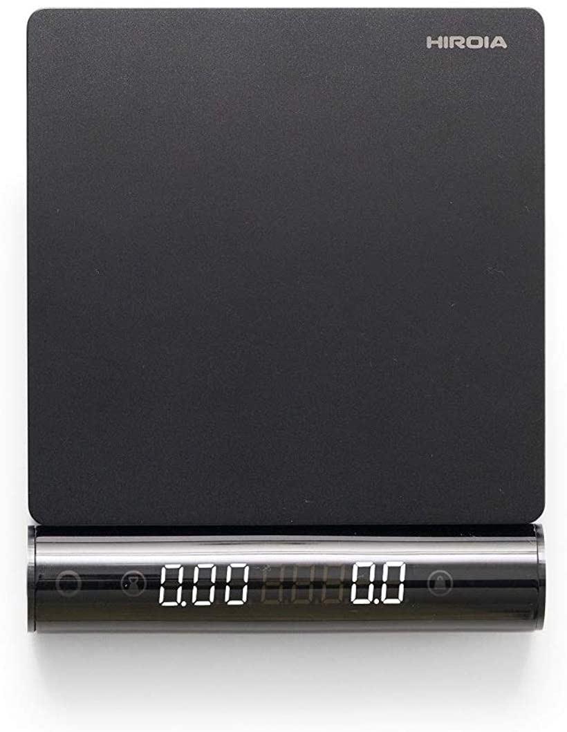 コーヒースケール ジミー EQJ-2000-B(ブラック, 計量範囲0~2000g)