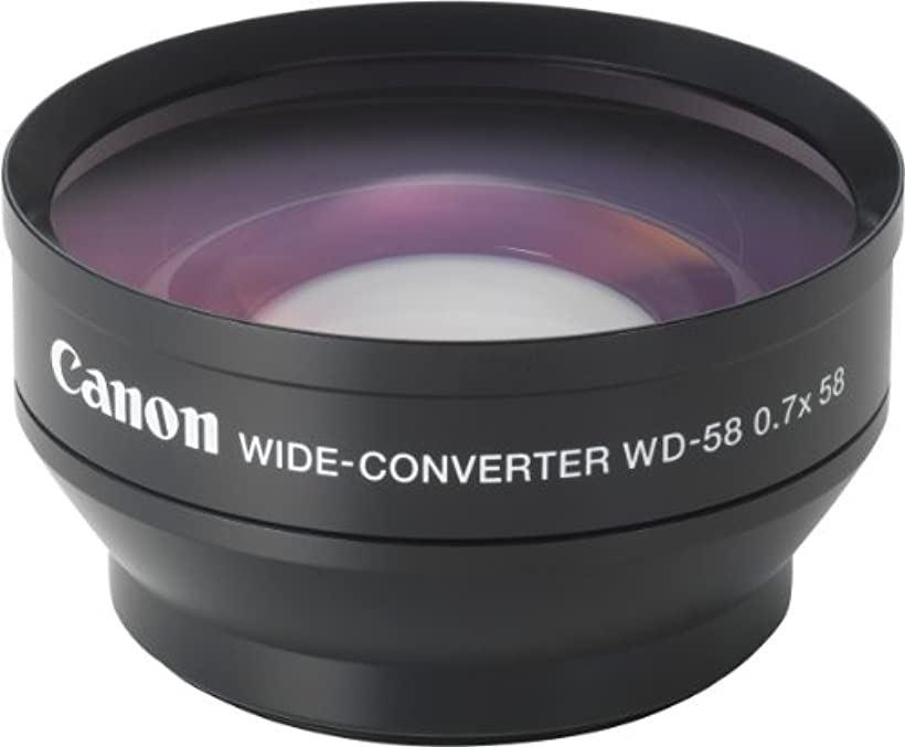 Canon ワイドコンバーター WD-58H