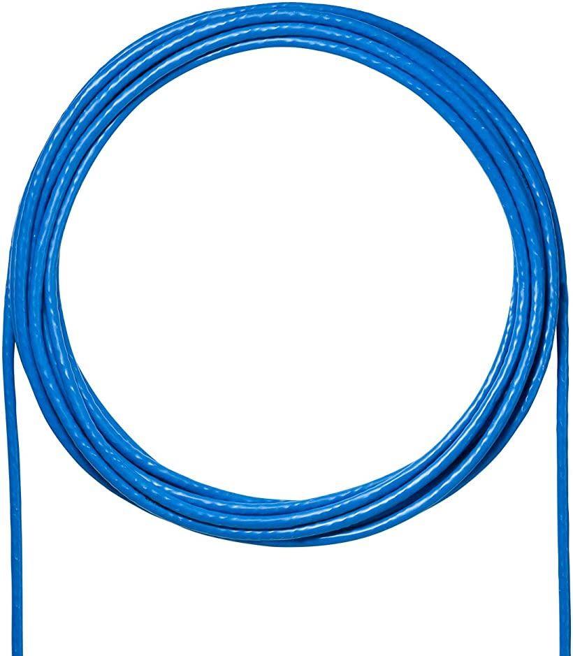 売り込み 超定番 サンワサプライ CAT6A LANケーブルのみ 自作用UTP単線ケーブル 10Gbps KB-T6A-CB100BL 500MHz RJ45 ブルー 100m
