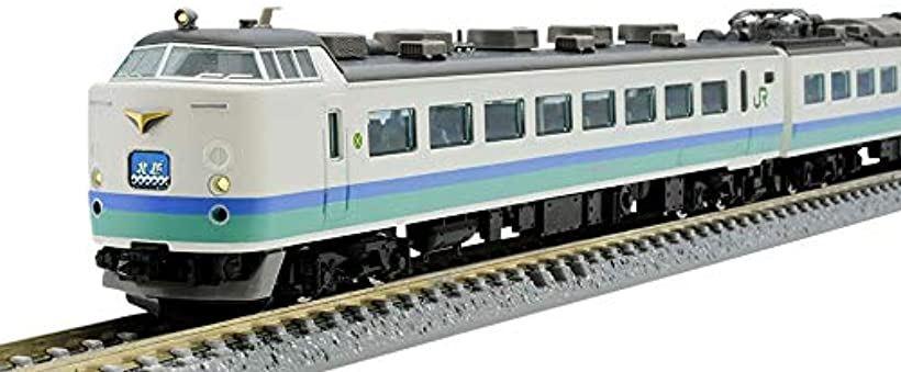 TOMIX Nゲージ 485 1000系 上沼垂色 セット 鉄道模型 電車 98665