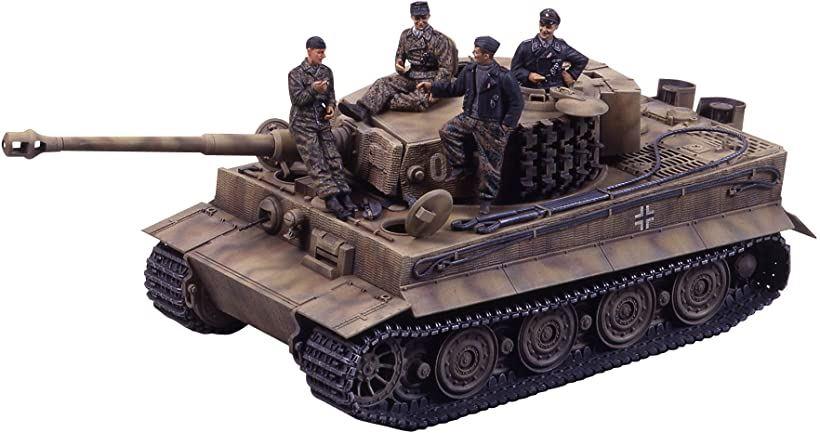 タミヤ TAMIYA  スケール限定シリーズ 1/35 ドイツ重戦車 タイガーI 後期型 エース・戦車兵セット 25109[25109-000]