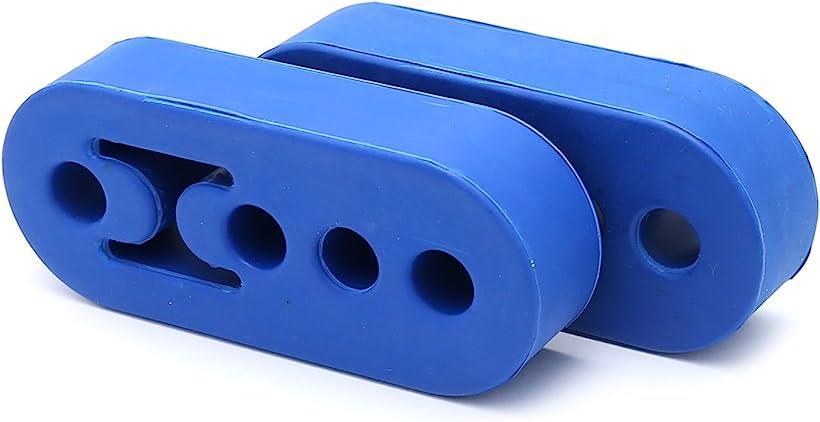全商品オープニング価格 ナキラ Nakira マフラーハンガー 吊りゴム ウント ブッシュ 4穴 汎用 ブルー 12mm 2個 受注生産品 nkr870