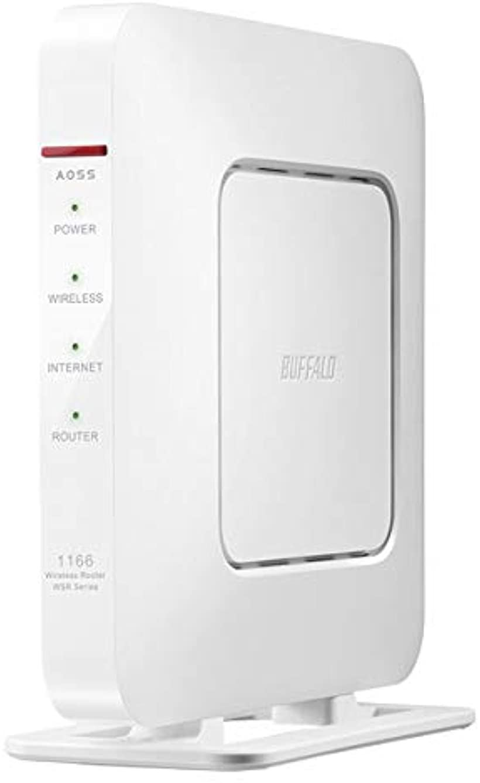 11ac対応 866+300Mbps 無線LANルータ 親機単体 ホワイト WSR-1166DHP4-WH
