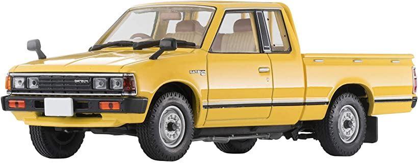 トミカリミテッドヴィンテージ ネオ 1/43 TLV-N43-27a ダットサン トラック キングキャブ AD 黄 メーカー初回受注限定生産 完成品[302070]
