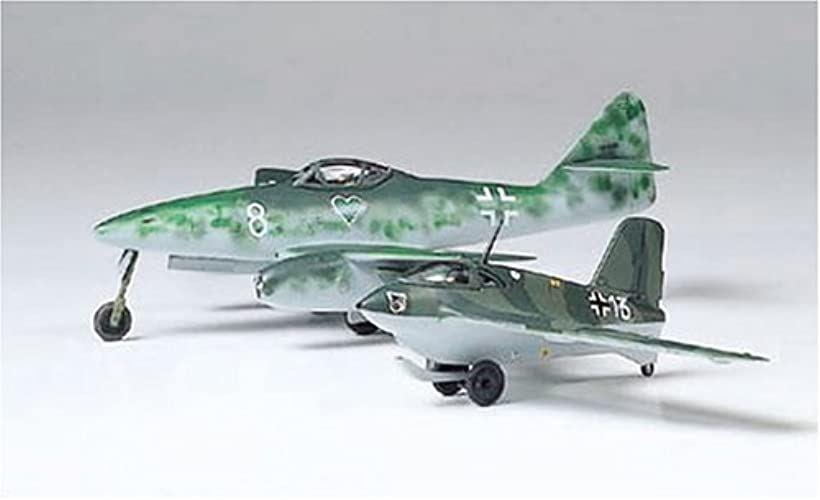 1/100 コンバットプレーンシリーズ ドイツ空軍 メッサーシュミット Me262A & Me163B プラモデル[61604]