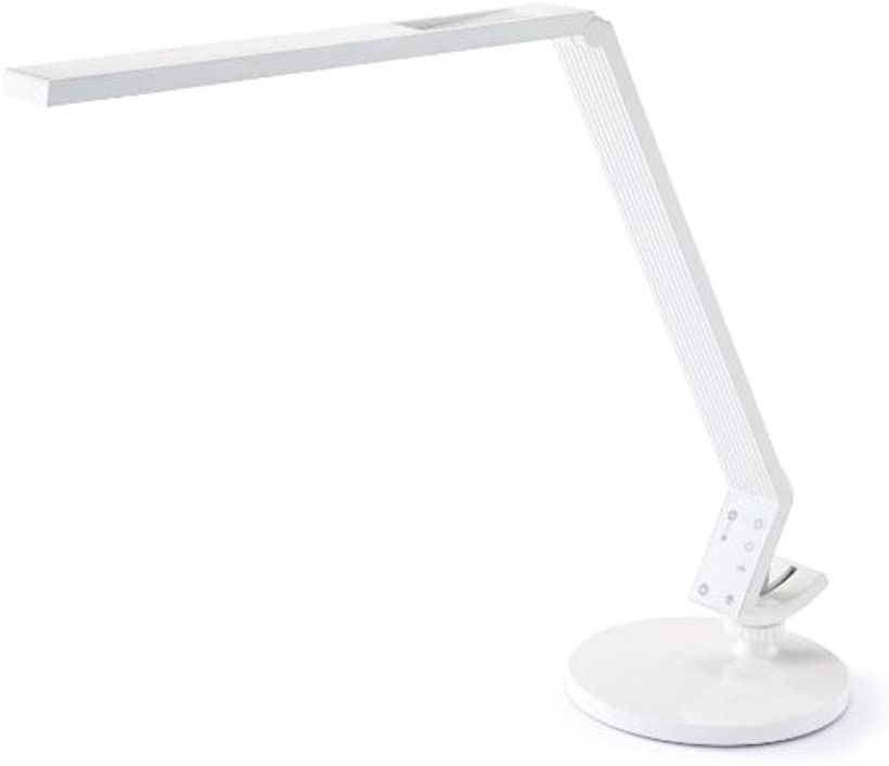 LEDスタンドライト 調光タイプ 折りたたみ式 470lm SCL-011WH(ホワイト)