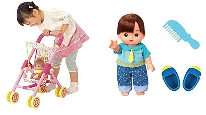 ベビーカー&あおくん人形セット
