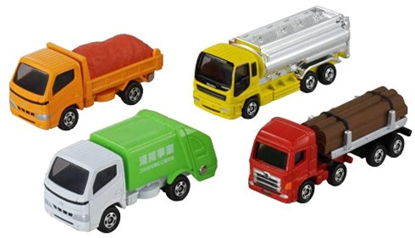 トミカ ギフト 運搬トラックセット[4904810785774]