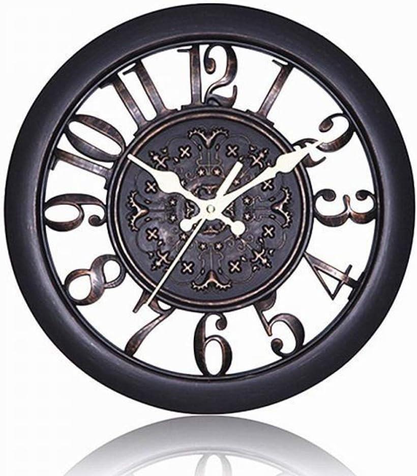 Eve Evan イヴ エヴァン 北欧風 捧呈 アンティーク調 掛け時計 静音 クロック 連続秒針 ブラック 割引も実施中 ウォール 選べる5色
