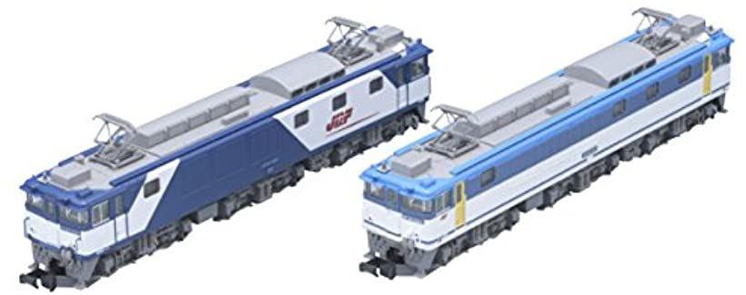 TOMIX Nゲージ EF64 1000形電気機関車 1009・1015号機 JR貨物更新車 セット 98960