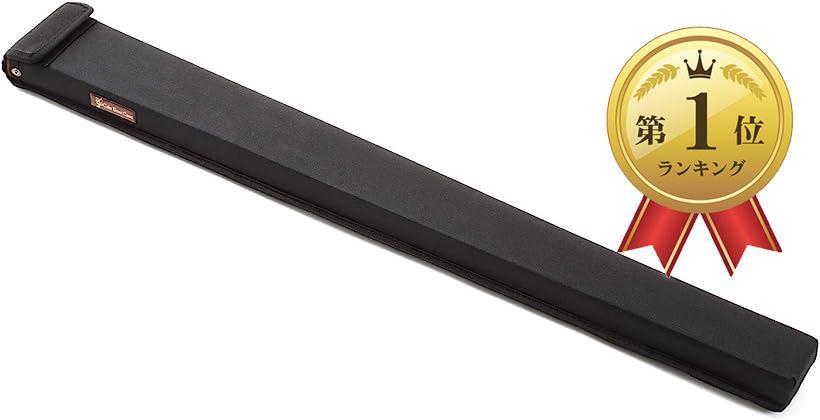 弓ケース ウッドベース コントラバス用 毛替え 練習 運搬用(ブラック)
