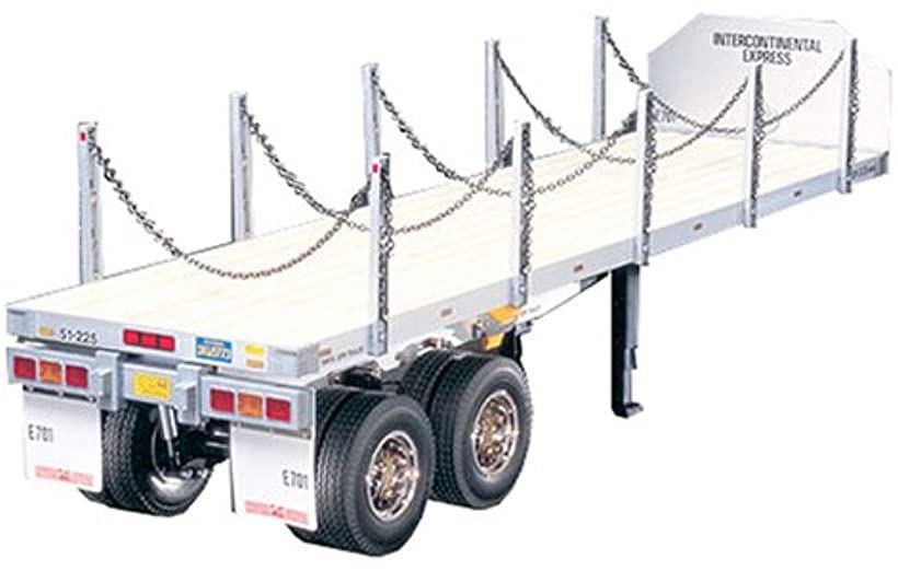 1/14 電動RCビッグトラックシリーズ No.06 トレーラートラック用 フラットベッド セミトレーラー ラジコン 56306
